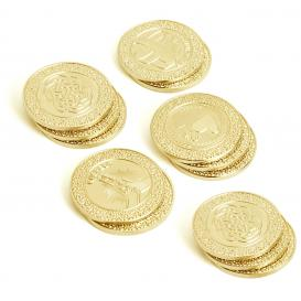arras coins and cases, 13 gold coins