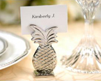 pineapple place card holder, a symbol of gracious hospitality and style