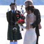 Stephan White, Bagpiper, Vancouver Island, British Columbia, Canada