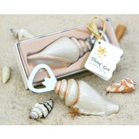sea shell bottle opener, seaside theme bridal shower