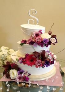 floral_Wedding_Cake, wedding cakes, wedding photography